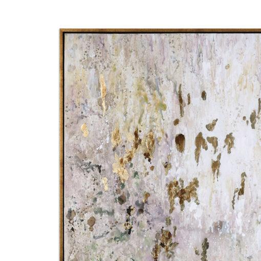 Golden Raindrops Canvass Wall Art 157cm