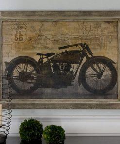 Ride Framed Canvas Wall Art 105cm