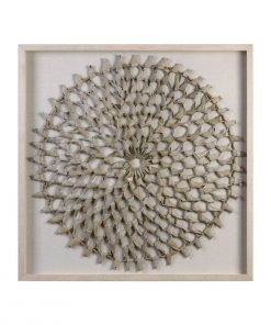 Palm Art Shadow Box Wall Art 99cm