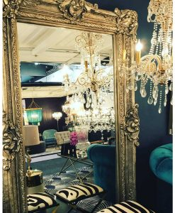 Oversize Floor Mirror