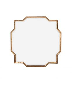 Mahal Gold Iron Frame Mirror 90cm