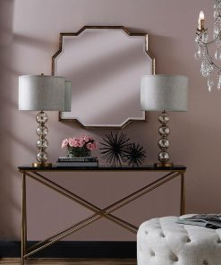 Mahal Gold Iron Frame Mirror