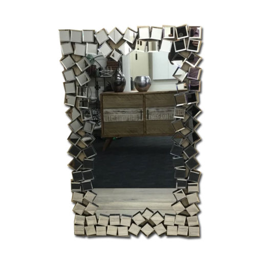 Cube Array Art Deco Wall mirror