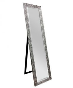 Decorative Cheval Mirror Silver