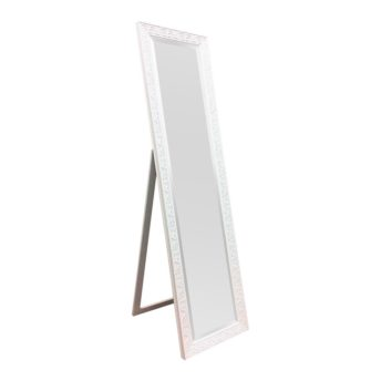 Decorative Cheval Mirror White