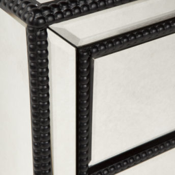 brentwood mirrored bedside