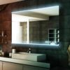 lucy deluxe frontlit led mirror