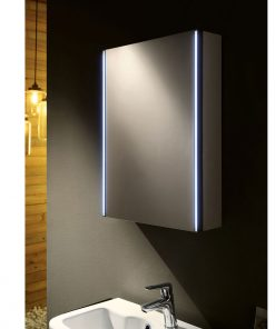 Ruby Remer Illuminated Mirrored Bathroom Cabinet 50cm x 70cm