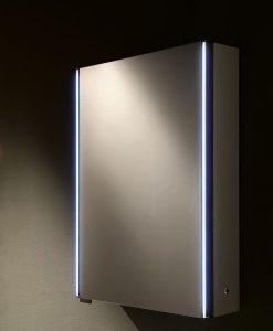 Ruby II LED Mirrored Bathroom Cabinet with IR Sensor