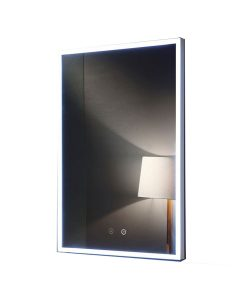 Attica Remer Backlit Mirror with Demister 50 x 70 cm