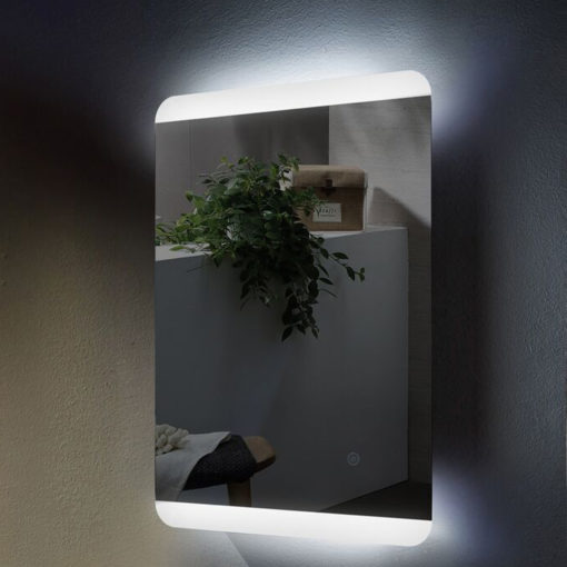 Freddo LED Illuminated Mirror by Remer