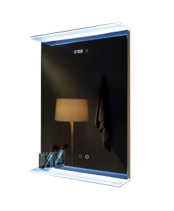 mirror with digital clock