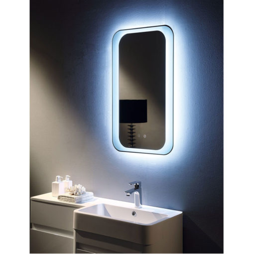 Otis Remer LED Illuminated Backlit Mirror 50 x 85 cm