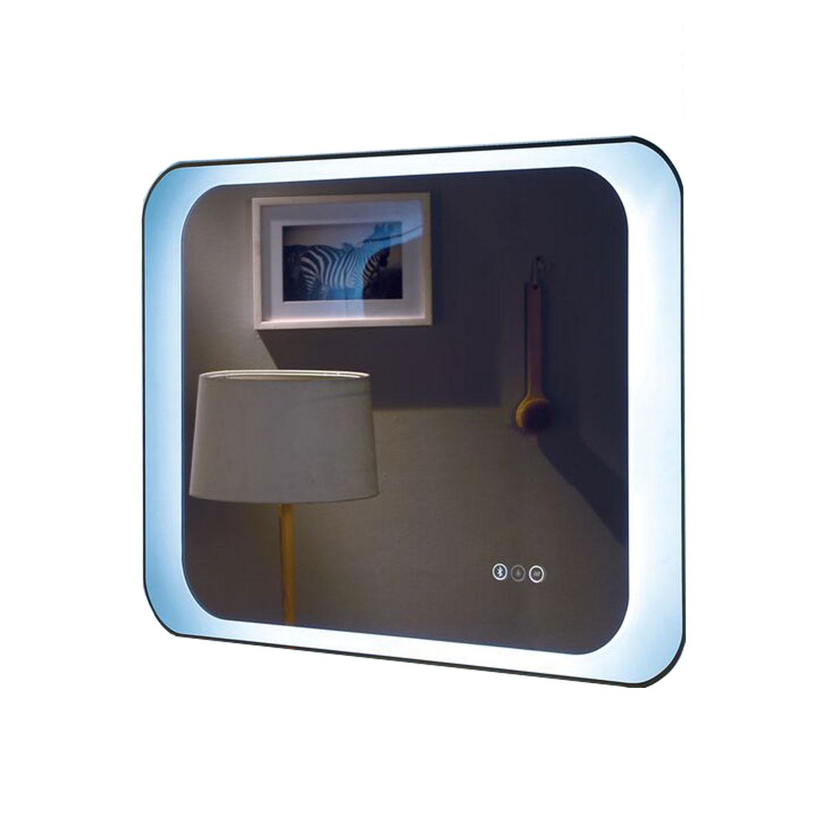 Otis Premium Bathroom Mirror LED Backlit Bluetooth Stereo ...