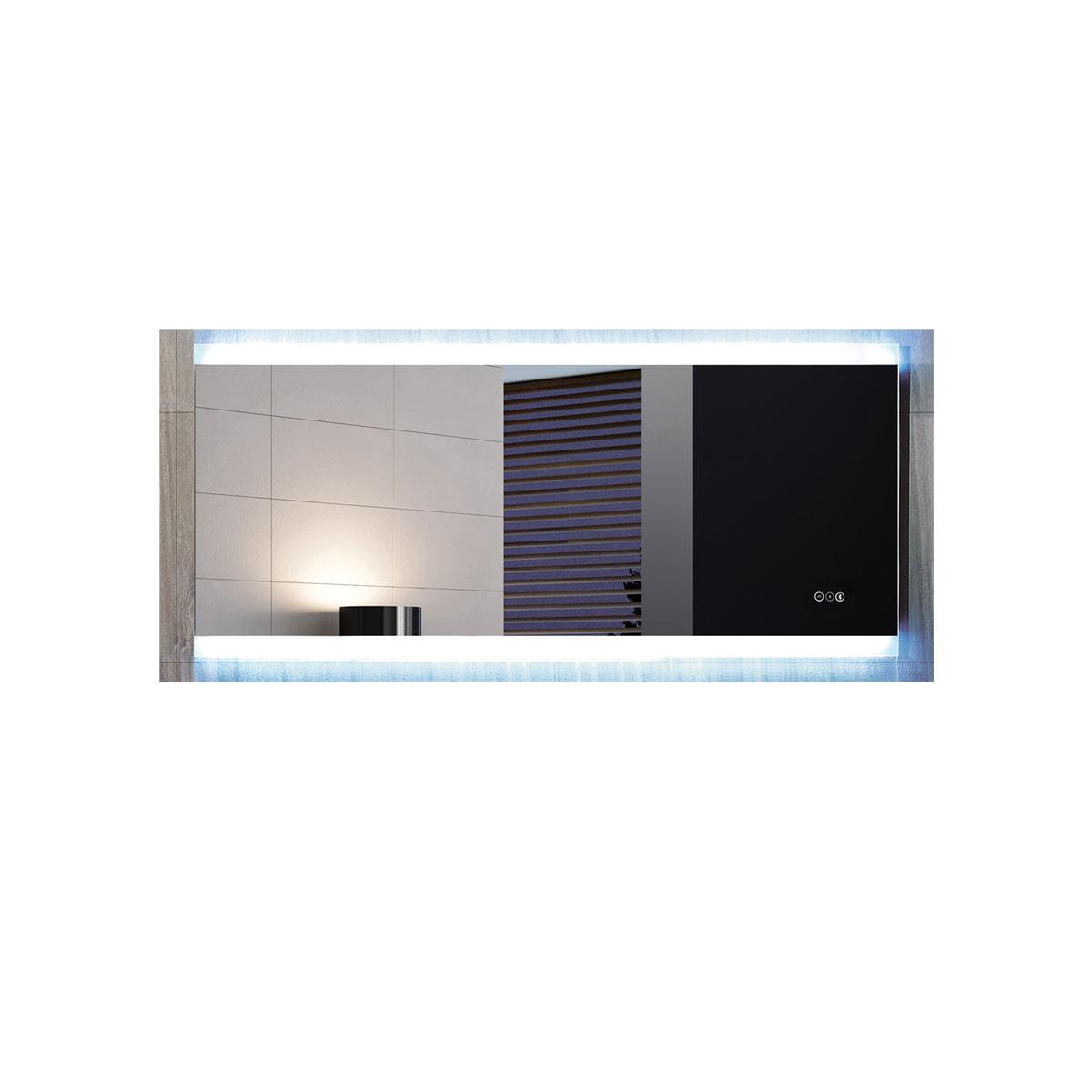 Otto Premium 1500 LED Bathroom Mirror - Bluetooth Stereo | Luxe Mirrors
