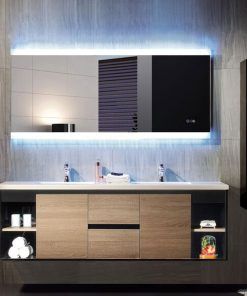 Otto Premium LED Backlit Mirror with Bluetooth Stereo Remer 170cm x 85cm