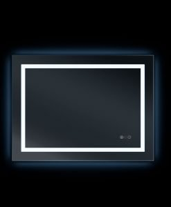 Arden Premium LED Backlit Mirror – Bluetooth Stereo & Demister 80 x 60cm