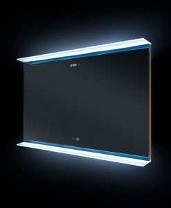 Nova Deluxe LED Illuminated Bathroom Mirror 100cm x 70cm