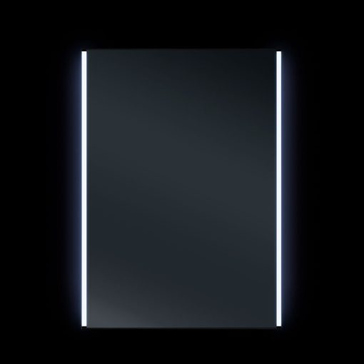 Ruby II LED Mirrored Bathroom Cabinet with IR Sensor 50cm x 70 cm