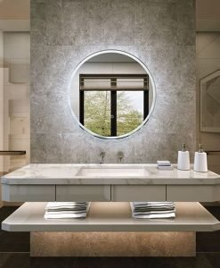 Choosing a Modern bathroom mirror with lights