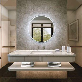 Choosing a Modern bathroom mirror with lights
