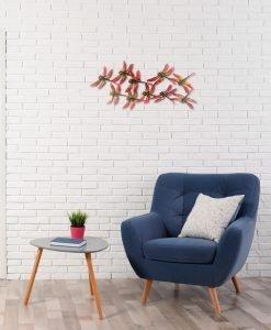 Simplicity Dragonfly Metal Wall Art