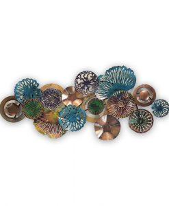 Ocean Coral Large Metal Wall Art