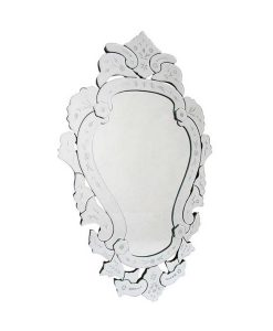 French Lace Venetian Mirror