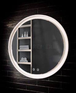 Eclipse Flex 800 Round Backlit Mirror Dimmable / Warm / Daylight / Cool light