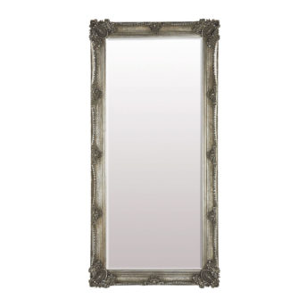 Abbey Leaner Mirror Silver W795 x D65 x H1650mm