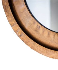 Milly Round Bronze Mirror 87cm