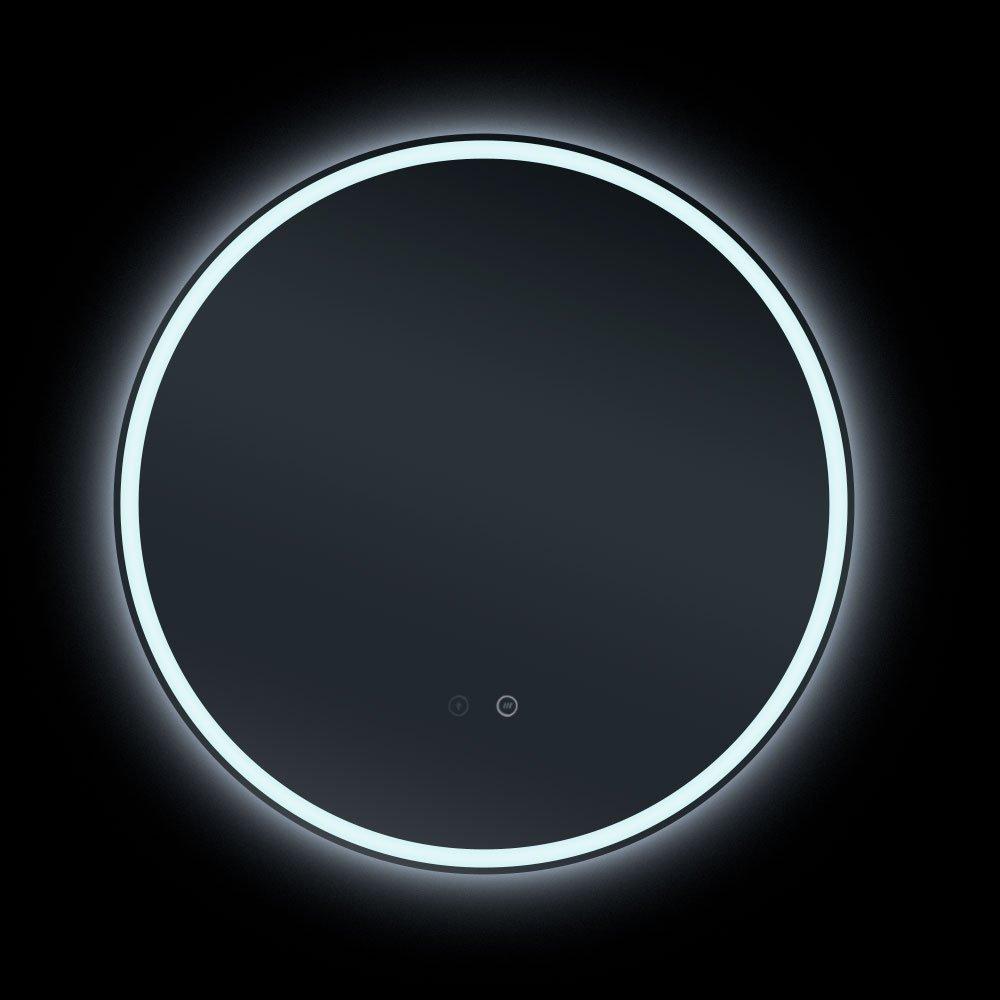 Sphere 800 Round Led Backlit Bathroom Mirror 80cm Luxe