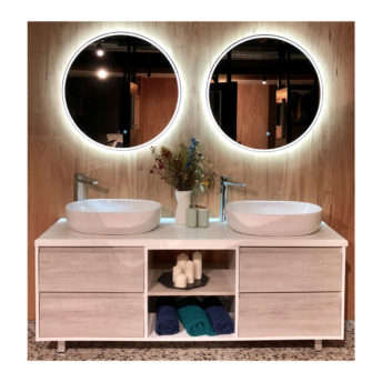 Sphere 800 Round LED Bathroom Mirror