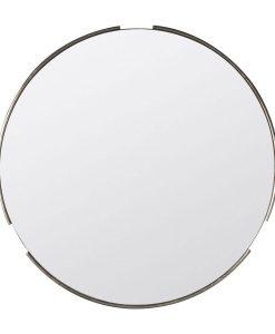 Fitzroy Round Mirror SilverW800 x D20 x H800mm