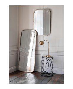 Curved Corner Leaner Mirror