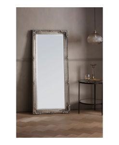 Royal Silver Leaner Mirror 67cm x 156cm