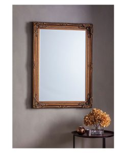 Royal Bronze Wall Mirror 78cm x 108cm