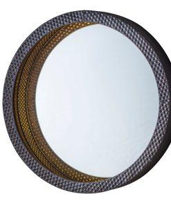 Sparks Modern Round Mirror W 510 x D 90 x H 510 mm