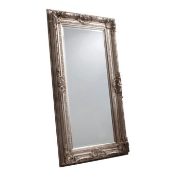 Decorative Leaner Mirror Silver W 990 x H 1845 mm