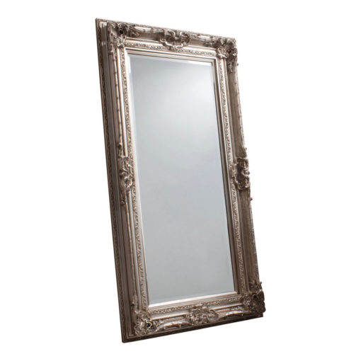 Decorative Leaner Mirror Silver W 990 x H 1845 mm