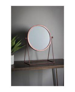Webber Round Modern Mirror W 360 x D 170 x H 445 mm