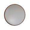 Aged Bronze Round Mirror