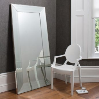 Florence Leaner Mirror Silver