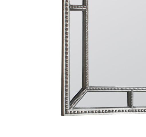 Layla Contemporary Beaded Wall Mirror