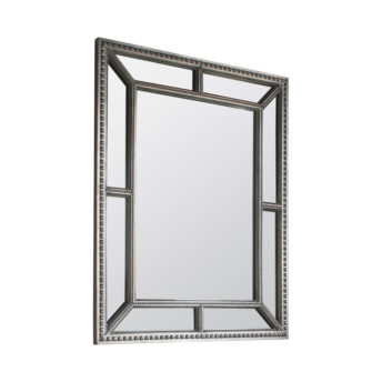 Layla Contemporary Beaded Wall Mirror