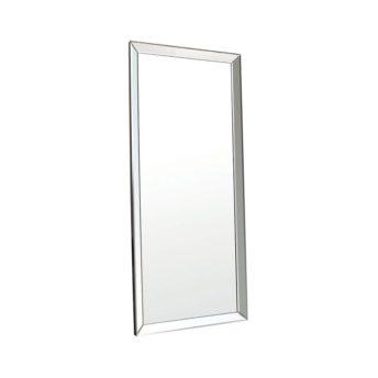 Destiny Silver Leaner Mirror 78cm x 178cm
