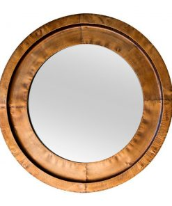 Milly Round Bronze Mirror