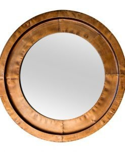 Milly Round Bronze Mirror