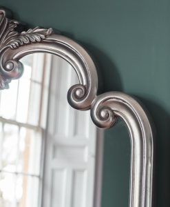 Piazza Arched Champagne Leaner Mirror 184cm x 104cm