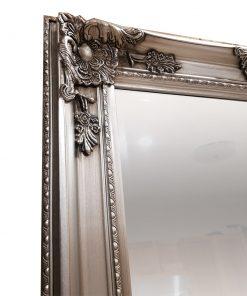 Taylor Silver Ornate Wall Mirror